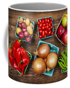 Market Fruits And Vegetables Coffee Mug