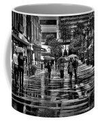 Market Square In The Rain - Knoxville Tennessee Coffee Mug