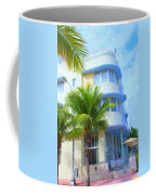 Marlin Hotel Side View Coffee Mug