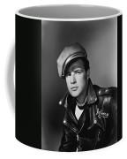 Marlon Brando In The Wild One 1953 Coffee Mug