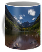 Maroon Bells At Night Coffee Mug