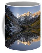 Maroon Bells First Light Coffee Mug