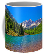 Maroon Bells In Color Coffee Mug