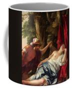 Mars And The Vestal Virgin Coffee Mug