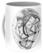 Mars: Schiaparelli, 1877 Coffee Mug