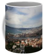 Marseille View From Cathedral Notre Dame De La Garde Coffee Mug