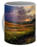 Marsh At Sunrise Coffee Mug