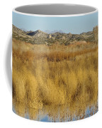 Marsh Lands In Wildlife Refuge Coffee Mug