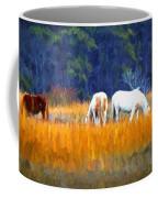 Marsh Ponies Coffee Mug