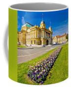 Marshal Tito Square In Zagreb Coffee Mug