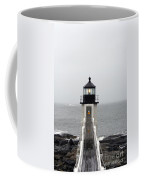 Marshall Point Light On A Foggy Day Coffee Mug