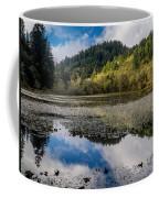 Marshall Pond In Autum Coffee Mug