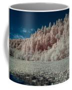 Marshall Pond In Infrared Coffee Mug