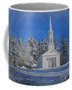 Martha Mary Chapel In Winter Coffee Mug by Jayne Carney