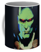 Martian Manhunter - A Close Encounter Coffee Mug