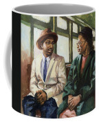 Martin And Rosa Up Front Coffee Mug by Colin Bootman
