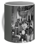 Martin Luther King Jnr 1929 1968 American Black Civil Rights Campaigner In The Pulpit Coffee Mug