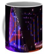 Martin Luther King Jr Bridge Lit Up Coffee Mug