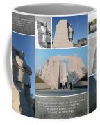 Martin Luther King Jr Memorial Collage 1 Coffee Mug