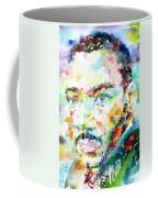 Martin Luther King Jr. - Watercolor Portrait Coffee Mug