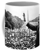 Martin Luther King The Great March On Washington Lincoln Memorial August 28 1963-2014 Coffee Mug
