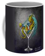 Martini Dragon Coffee Mug