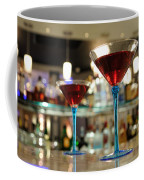 Martini Glasses In Bar Coffee Mug
