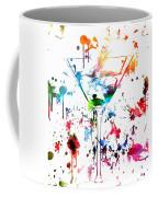Martini Paint Splatter Coffee Mug