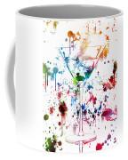 Martini Watercolor  Coffee Mug