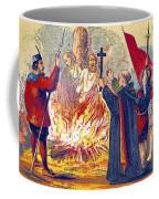 Martyrdom Of Ridley And Latimer, 1555 Coffee Mug