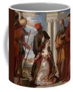Martyrdom Of Saint Justina Coffee Mug