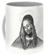 Mary After Davinci Coffee Mug