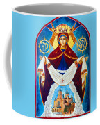 Mary And The Holy Church Coffee Mug
