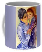 Mary Cassatt Helene De Septeuil In Watercolor Coffee Mug