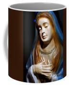 Mary In Manger Coffee Mug