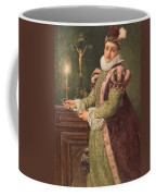 Mary Queen Of Scots Coffee Mug by Sir James Dromgole Linton
