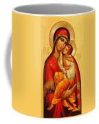 Mary The God Bearer Coffee Mug by Philip Ralley