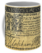 Maryland Bank Note, 1774 Coffee Mug