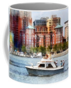 Maryland - Cabin Cruiser By Baltimore Skyline Coffee Mug
