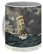 Masefield Sea Fever, 1902 Coffee Mug