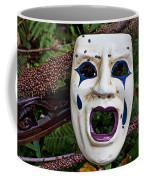 Mask And Ladybugs Coffee Mug