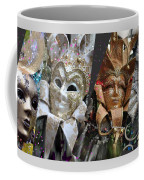 Masquerade Craziness Coffee Mug