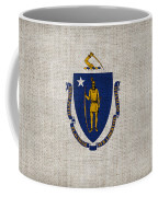 Massachusetts State Flag Coffee Mug by Pixel Chimp