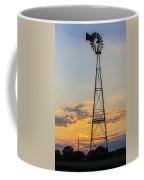 Massey Windmill Silhouette Coffee Mug
