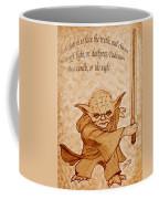 Master Yoda Wisdom Coffee Mug