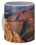 Mather Point At Sunrise On The Grand Canyon Coffee Mug