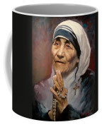 Mather Teresa Coffee Mug by Ylli Haruni