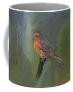 Mating Colors Of The Male Finch Coffee Mug