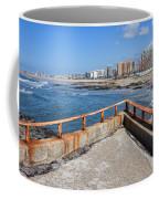 Matosinhos City Skyline In Portugal Coffee Mug