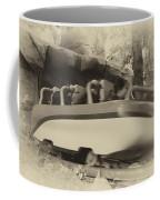Matterhorn Bobsled Fantasyland Disneyland Heirloom Coffee Mug